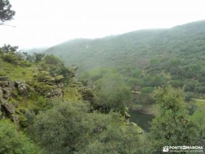 Garganta Picadas_Via Verde Alberche;senderismo gourmet emociones experiencias alegría
